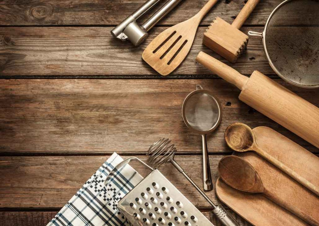 Around My Gluten-Free Table Chef Tools