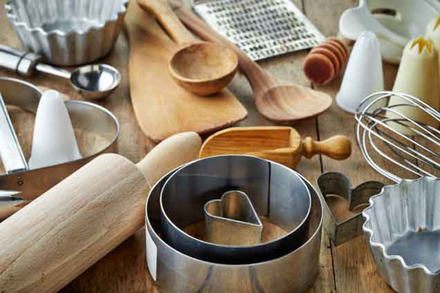 Around My Gluten-Free Table kitchen utensils
